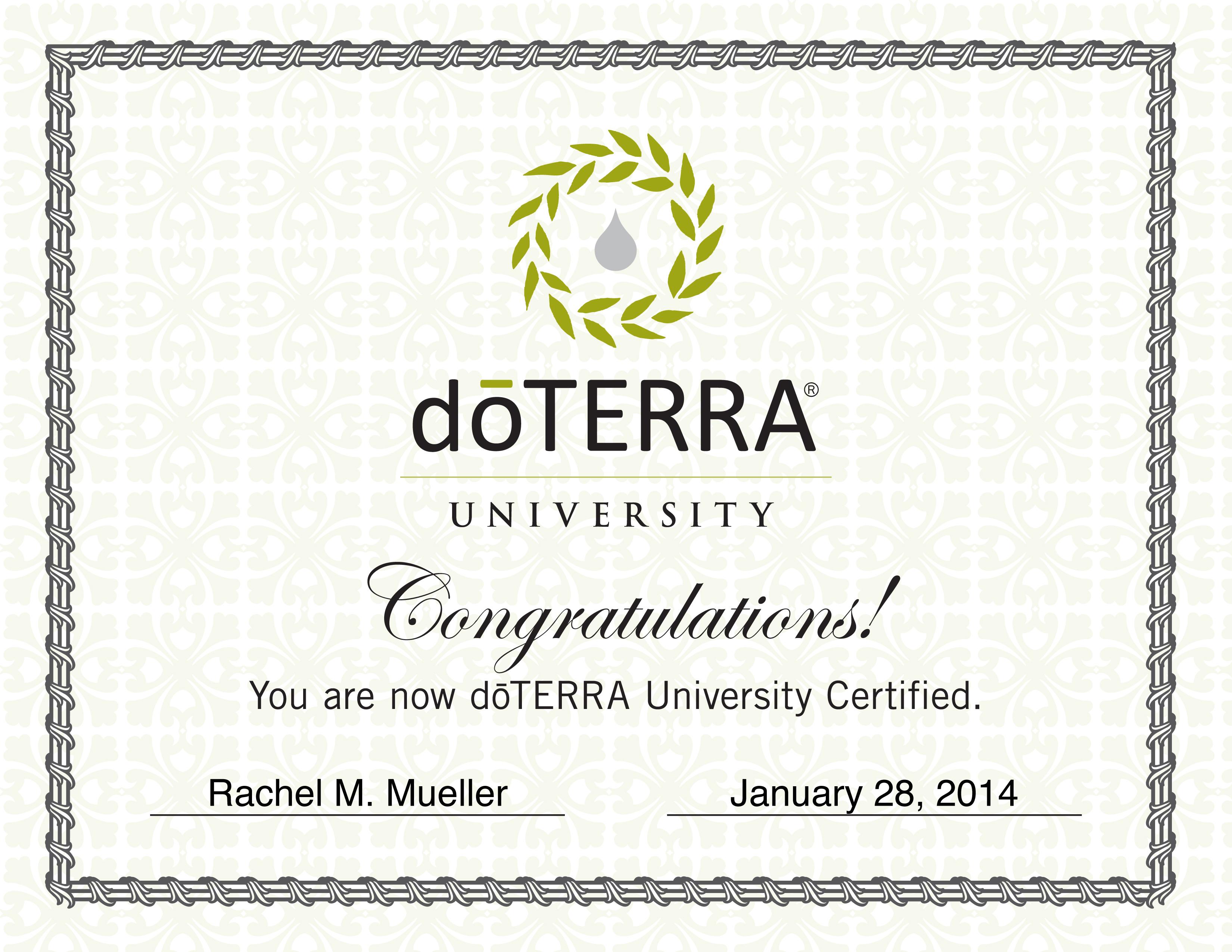 doTERRA_University_Cert