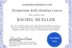 Belly-Binding-Certification