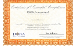 Event Completion Certificate